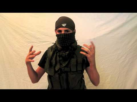 Airsoft How To – Wrap a shemagh (lower face)