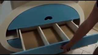 видео Детский комод с пеленальным столиком