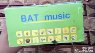 unboxing of wireless headphones Bat music 668