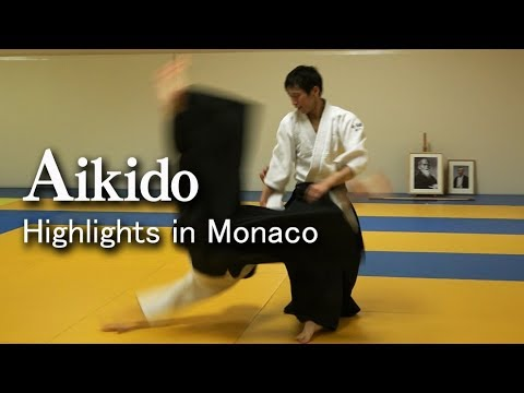 Aikido Highlights in Monaco 合気道 白川竜次 先生 モナコセミナー