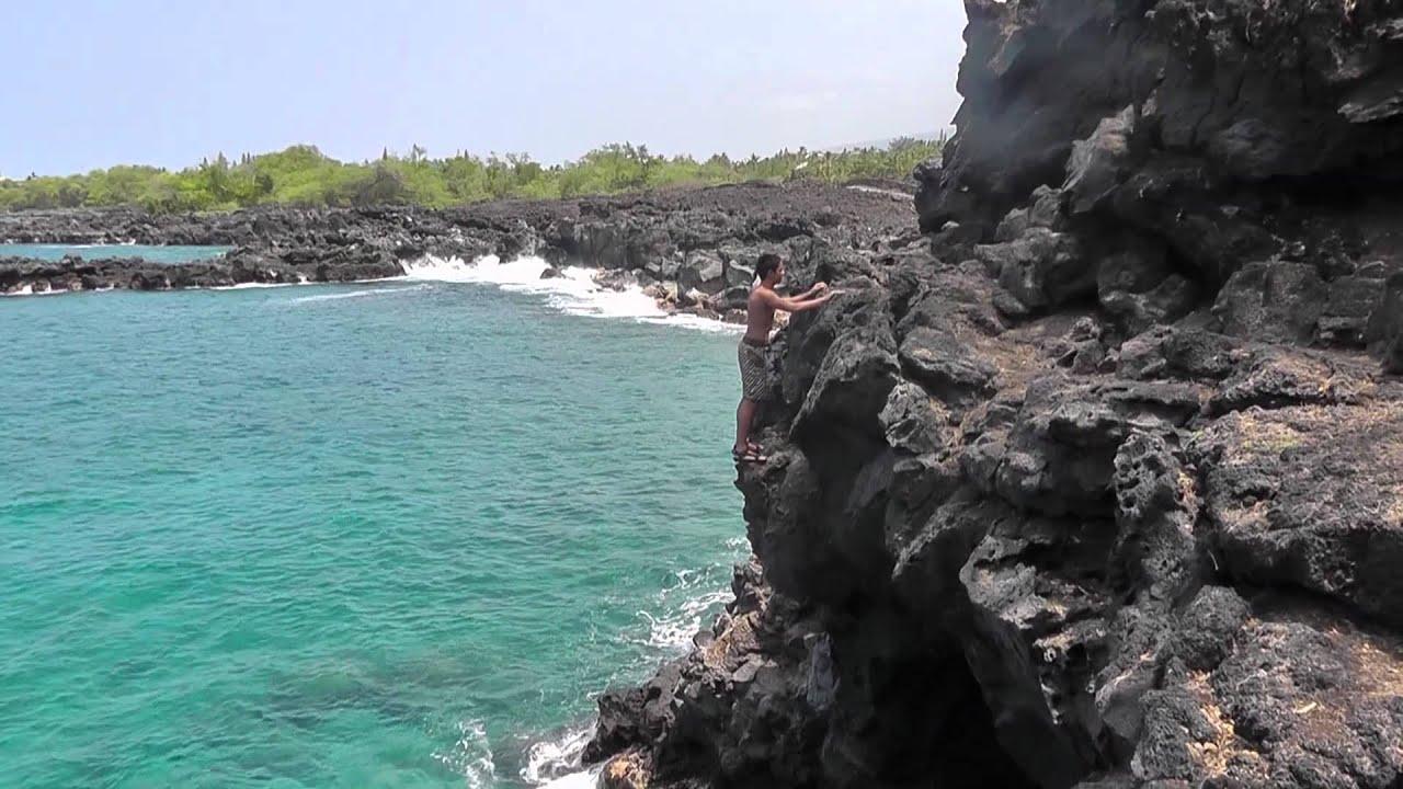 Big Island Hawaii Cliff Jumping
