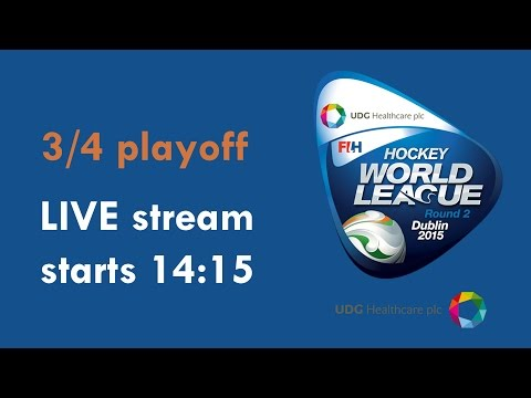 LIVE Hockey World League 3rd / 4th Playoff 14:30 GMT 22nd March 2015