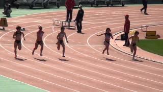 女子100mA決勝 Melissa Breen (AUS) won the women's 100m A-Final in 1...