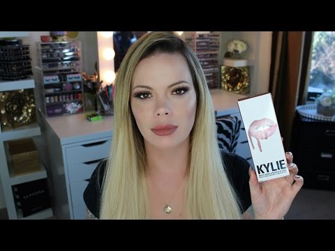 Kylie Jenner's Lip Kit Review w/ Check Ins (Candy K)