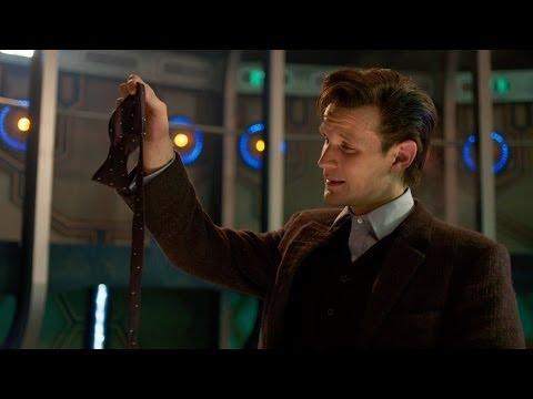 The Eleventh Doctor regenerates