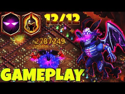 12/12 SKELETICA | 8 WG - 7 Unholy Pact | 2.7 MILL DMG ! | CASTLE CLASH