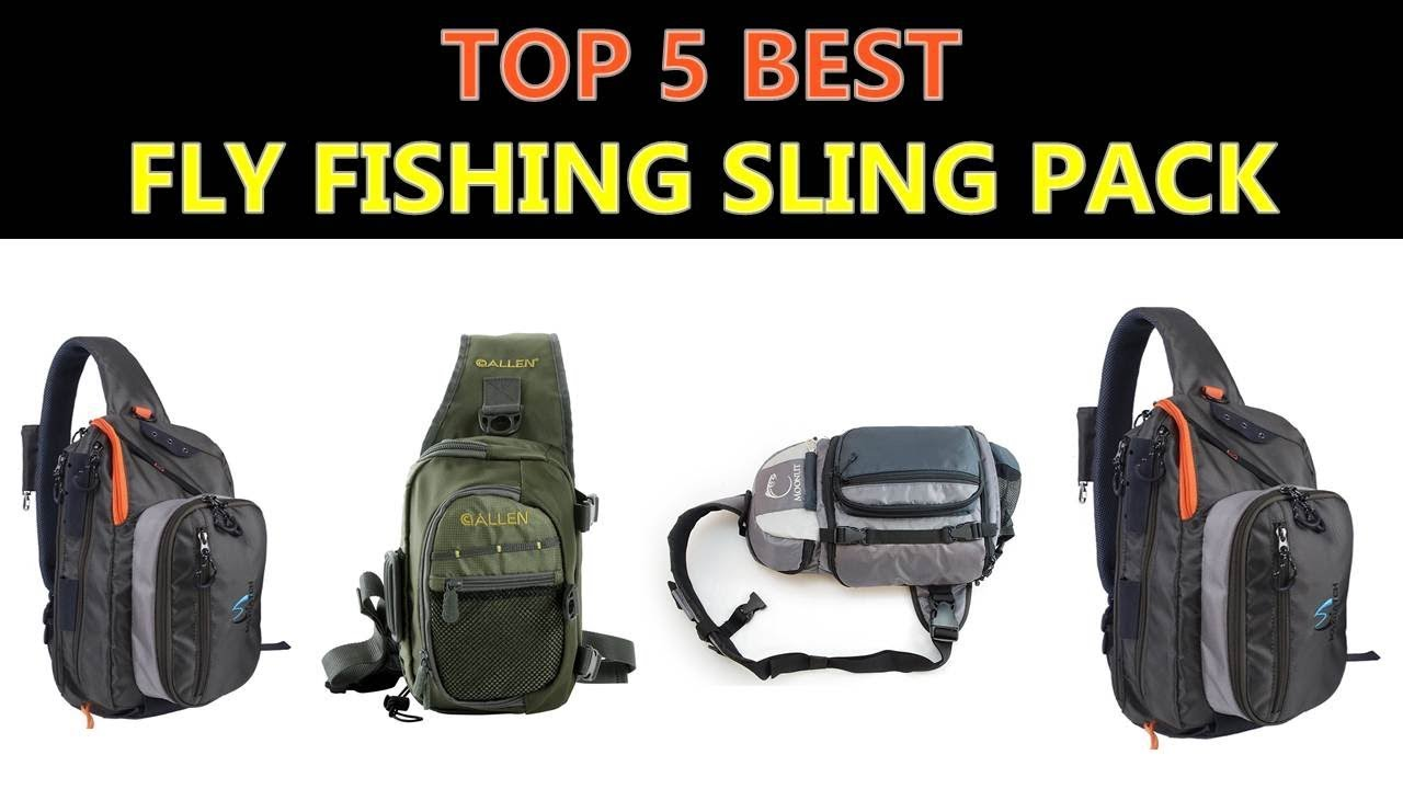 a600e117961c Best Fly Fishing Sling Pack 2019 - YouTube