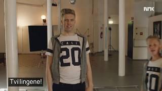 Tvillingene Martin og Morten er helt like   Hit for hit