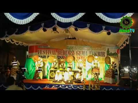 Juara I Festival Bedug dan Takbir Kontemporer 2016 se-Kabupaten Buleleng (Katgr. Dewasa)