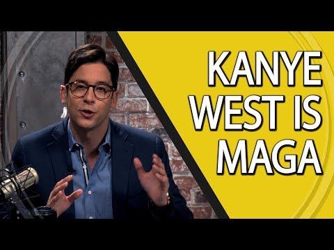 Kanye West Is MAGA kanye west