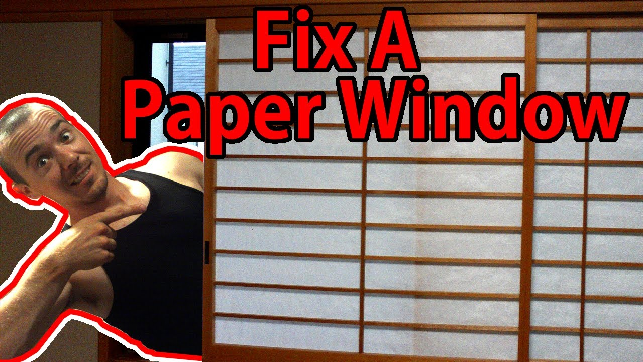 how to make japanese paper doors