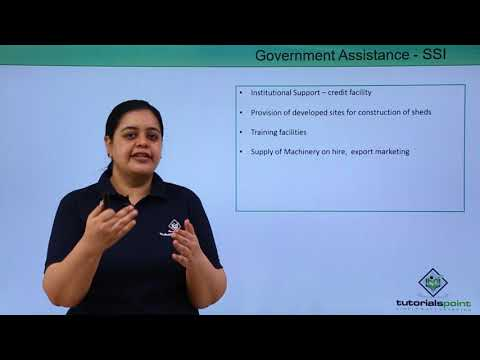 Small Business - SSI – Government Assistance