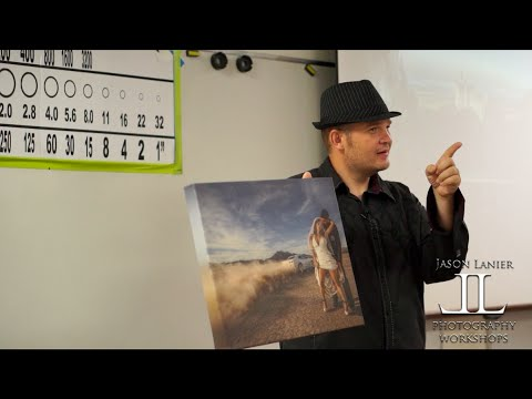 Live Photography Landscapes and Weddings Seminar with Jason Lanier at Tri Community School