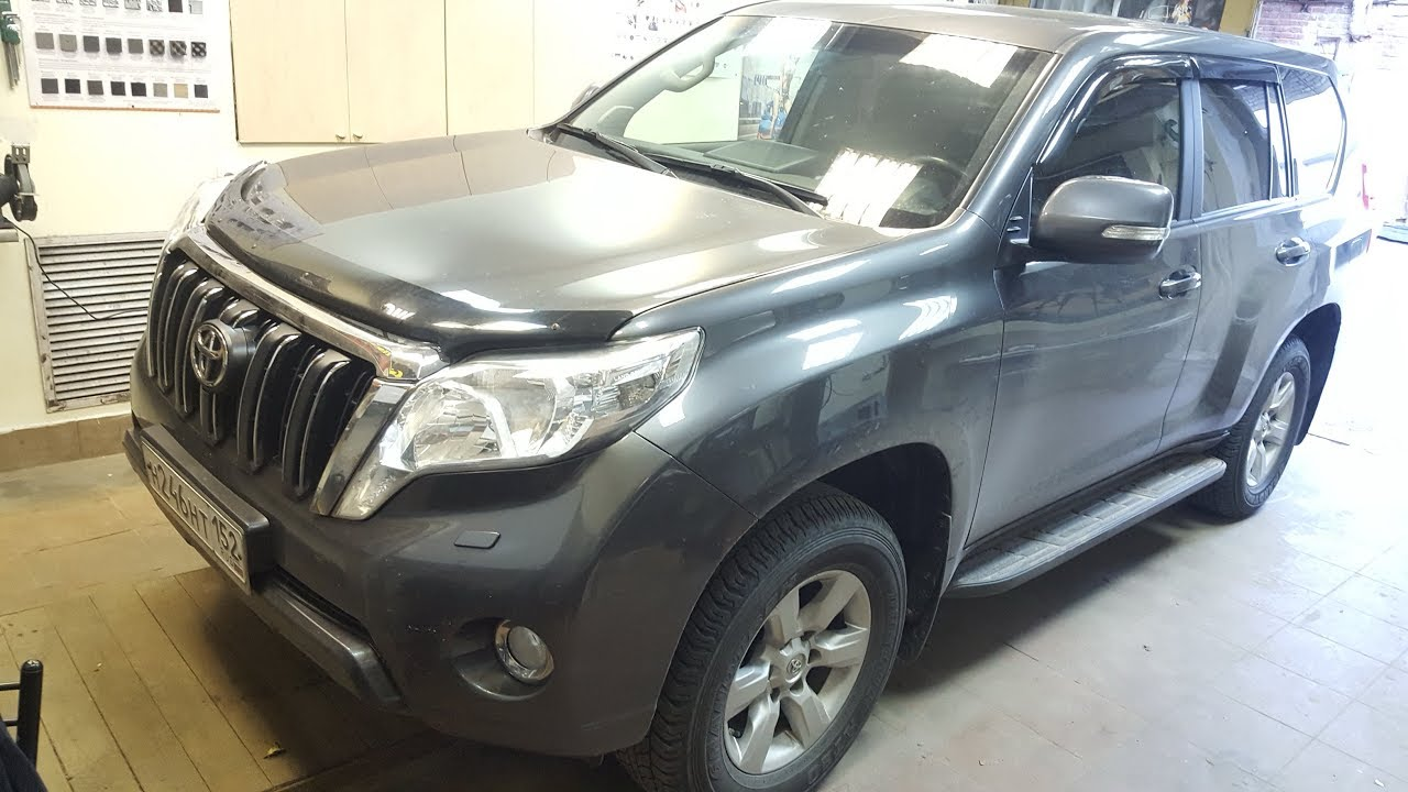 Toyota Land Cruiser Prado 150 - Замена штатного звука - часть 1