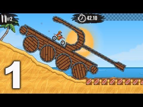 MOTO X3M Bike Racing Game - levels 1 - 15 Gameplay Walkthrough Part 1 (iOS, Android)