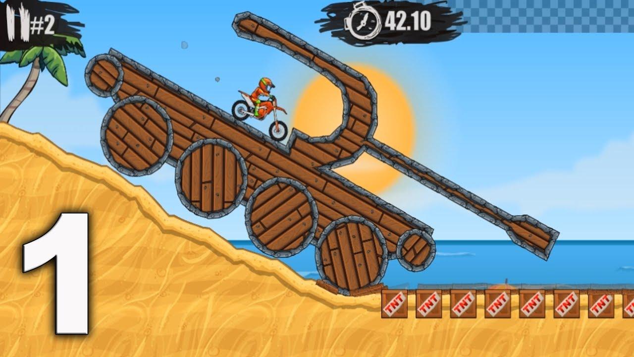 Moto X3m Bike Racing Game Levels 1 15 Gameplay