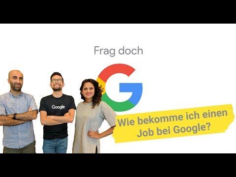 Wie Bekomme Ich Einen Job Bei Google? | 'Frag Doch Google' #2
