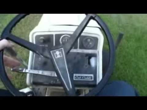 Ih Cub Cadet 149 Lawn Tractor Youtube