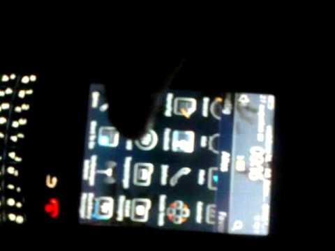 Blackberry 9800 Torch - crazy screen