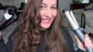 Repeat youtube video Locken & Beach Waves Babyliss Curl Secret & Remingston Pro Soft Curls + Outtakes