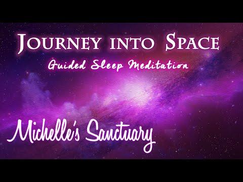ASMR Hypnotic Sleep Story & Guided Meditation: Journey Into Space