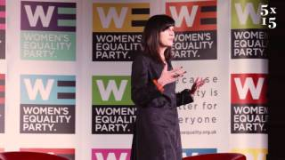 Catherine Mayer @ 5x15 - Women's Equality Party