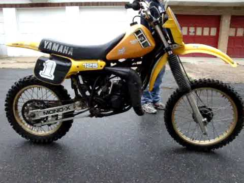 1982 Yamaha Yz125 Yz 125j For Sale On Ebay September 2009