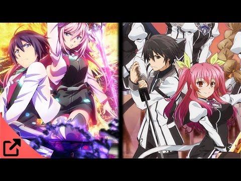 Top 5 Animes Similar to Gakusen Toshi Asterisk