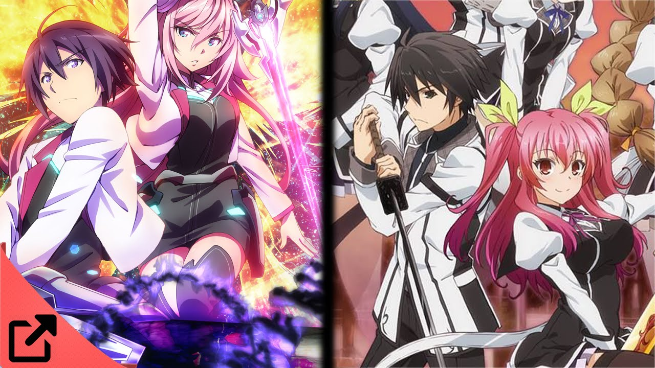 Top 5 Animes Similar To Gakusen Toshi Asterisk - Youtube-7569