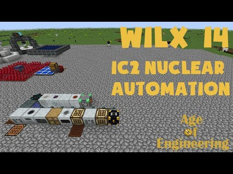 14 - IC2 Nuclear Reactor Automation, Iridium - Age of Engineering