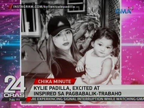 Kylie Padilla, excited at inspired sa pagbabalik-trabaho