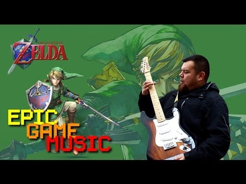 "Legend of Zelda 2 The Adventure of Link ""Palace Theme"" (Music Video) // Epic Game Music"