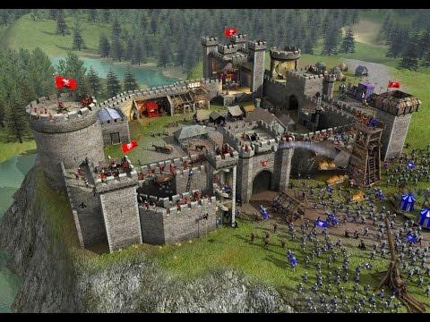 Симулятор строителя замков! Stronghold Crusader 2
