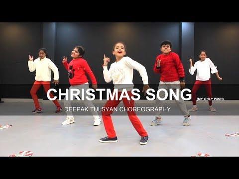 Christmas Song  My Only Wish  Beg Kids  Britney Spears  Deepak Tulsyan Choreography  G M Dance