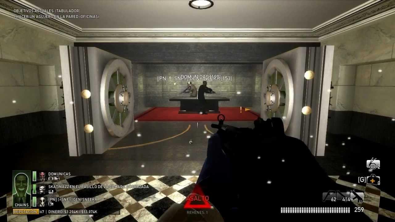 Payday the heist secret vault overdrill youtube for Vault of secrets