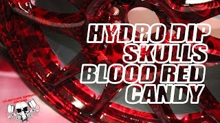 Download Hydrodipping Blood Red Candy & Hydro Graphic Skulls Mp3 and Videos
