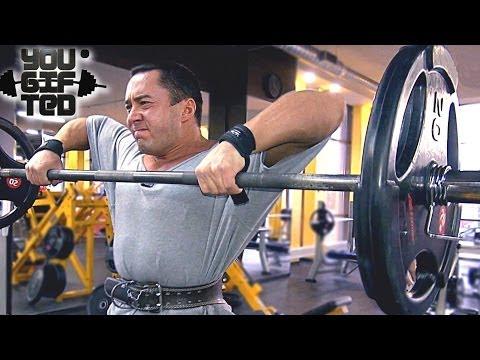 Особенная тренировка плеч.