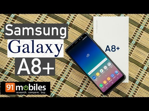 Samsung Galaxy A8+: Unboxing | Hands on | Price [Hindi-हिन्दी]