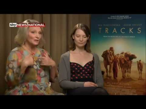 Inspirational Speaker Robyn Davidson discusses her movie 'TRACKS'