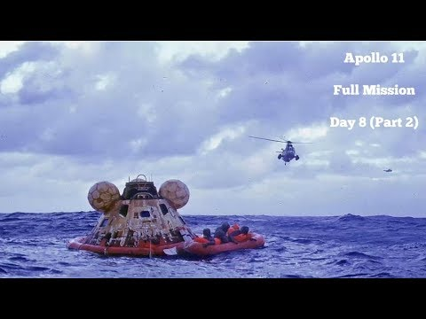Apollo 11 - Day 8 Part 2 (Full Mission)