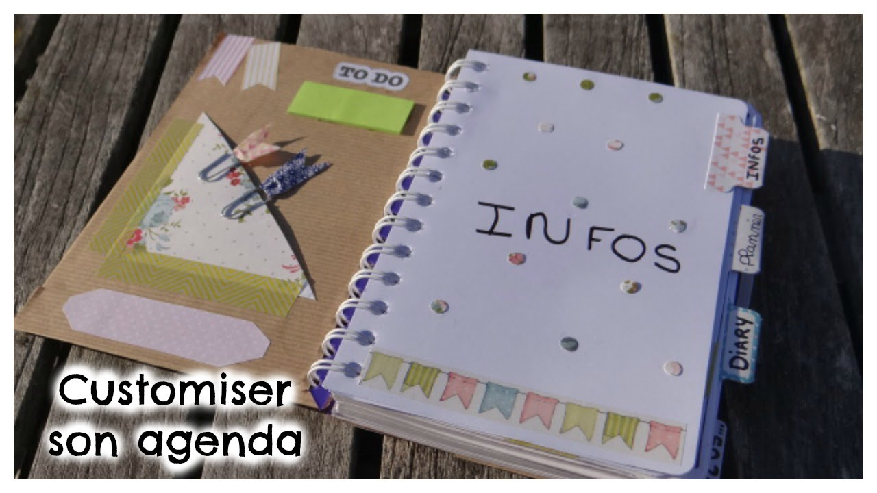 Magnifique DIY Back To School | Customiser son agenda || Louiise - YouTube &AT_44