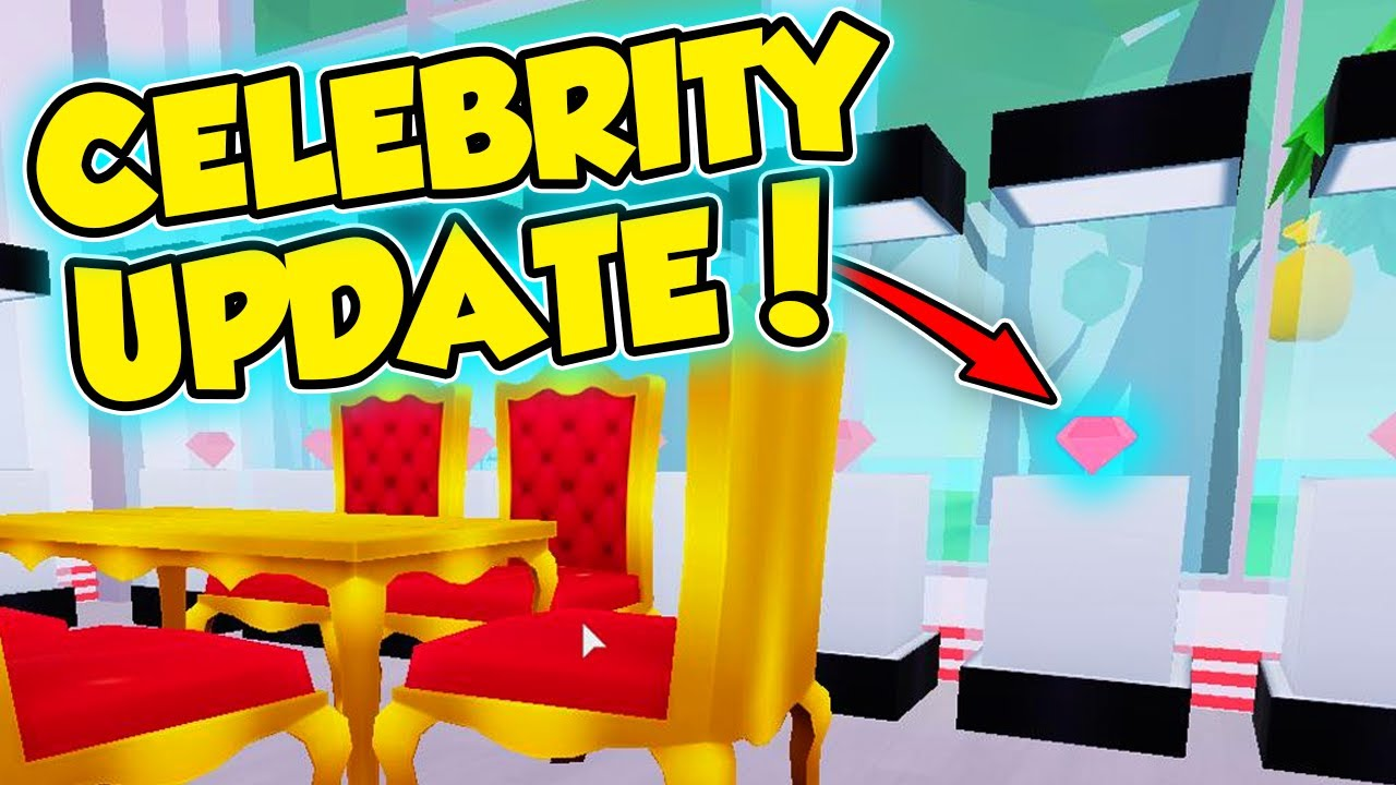 HOW TO GET MAX CELEBRITY CUSTOMERS - MY RESTAURANT CELEBRITY UPDATE - Roblox
