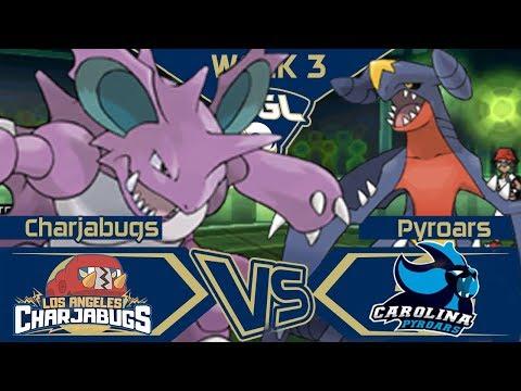 RISKY PLAYS & LOW ROLLS  • Los Angeles Charjabugs v Carolina Pyroars PGL W3 • Pokemon Ultra Sun&Moon