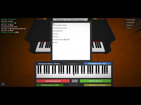 Roblox Virtual Piano Pity Party Melanie Martinez Youtube