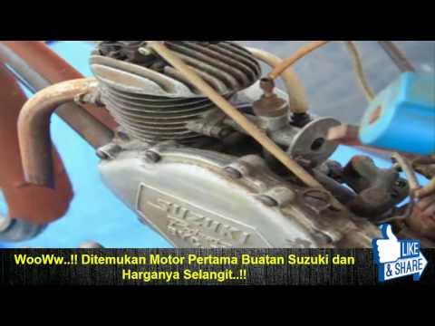 WooWw..!! Ditemukan Motor Pertama Buatan Suzuki dan Harganya Selangit!!