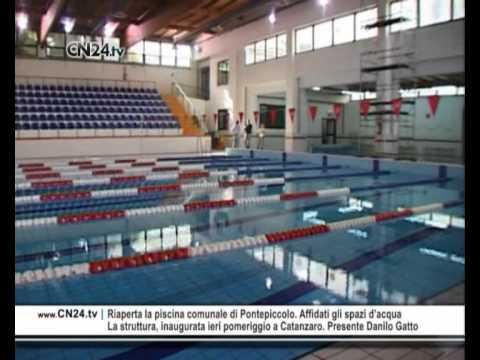 CN24  Riaperta la piscina comunale di Pontepiccolo Affidati gli spazi dacqua  YouTube