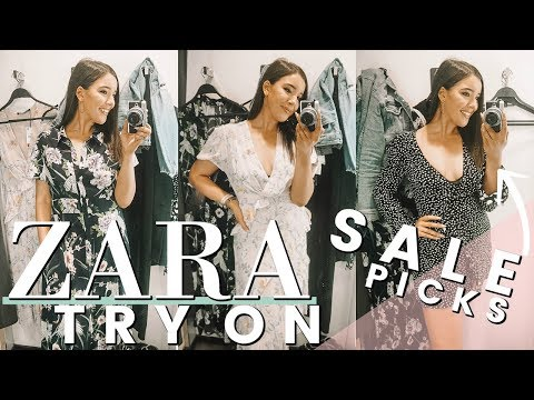 ZARA TRY ON - SUMMER SALE 2018 | SHOP WITH ME