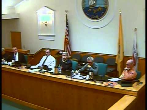 Upper Township Committee Meeting 11/10/14