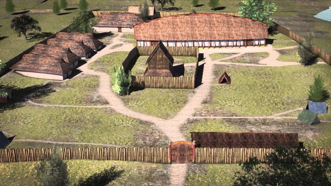 3D-animation of Tissø in The Viking Age