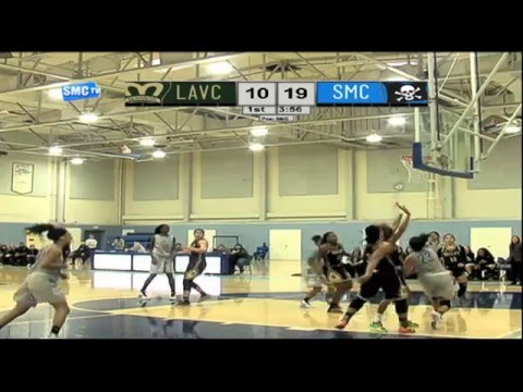 Santa Monica College Women's Basketball vs Los Angeles Valley College - February 3, 2016 (Full Game)